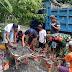 Bersama Warga, Babinsa Tegalrejo Lumajang Siapkan Perayaan HUT Ke-74 RI