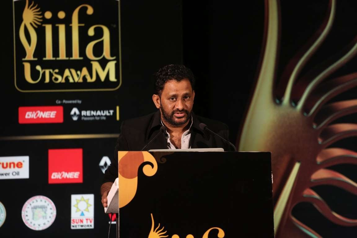 Ive known the people at IIFA for many years Ive always wondered why the focus was always on Bollywood when southern cinema constitutes  percent share of total revenue of Indian cinema said Resul Pookutty
