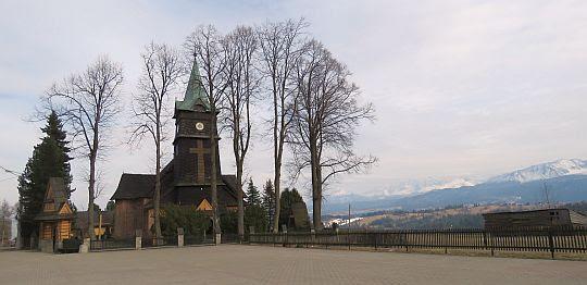 Kościół św. Anny w Zębie.