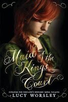 Maid of the King's Court by Lucy Worsley Eliza Rose cover