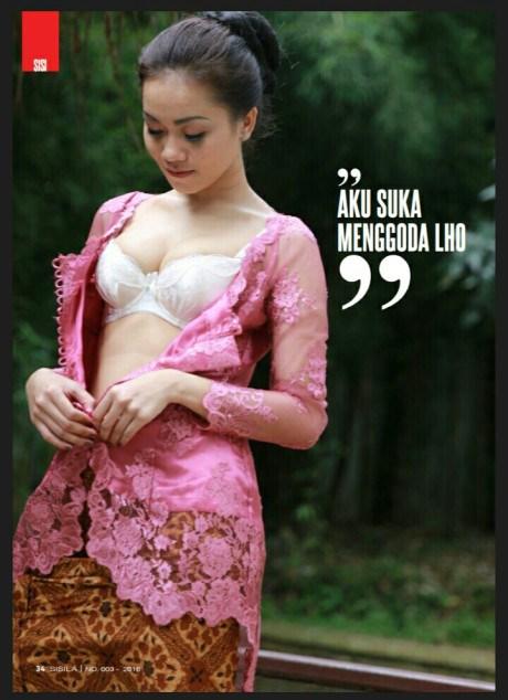Alya Dior Penjual Jamu Dengan Buah Dada Jumbo 1