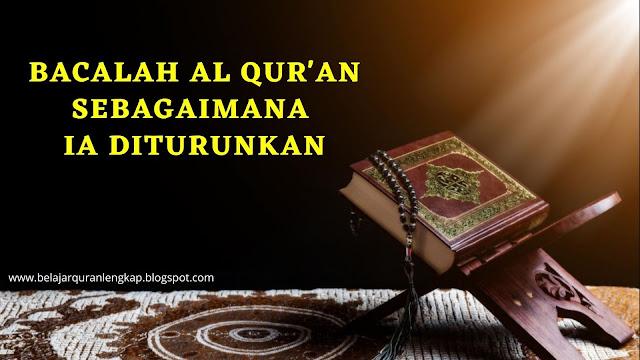 Membaca Al-Quran dengan Ilmu Tajwid Hukumnya
