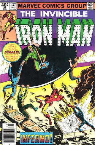Iron Man #137