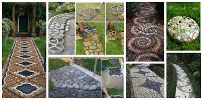 Pisos de piedras para jardines