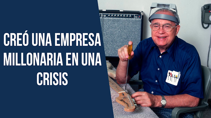 La historia de Leonidas Fender, el inventor que revolucionó la industria musical