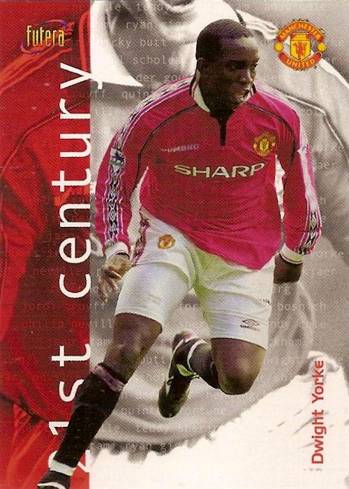 27 21st Century Futera Manchester United 2000 Jordi Cruyff No Singapore