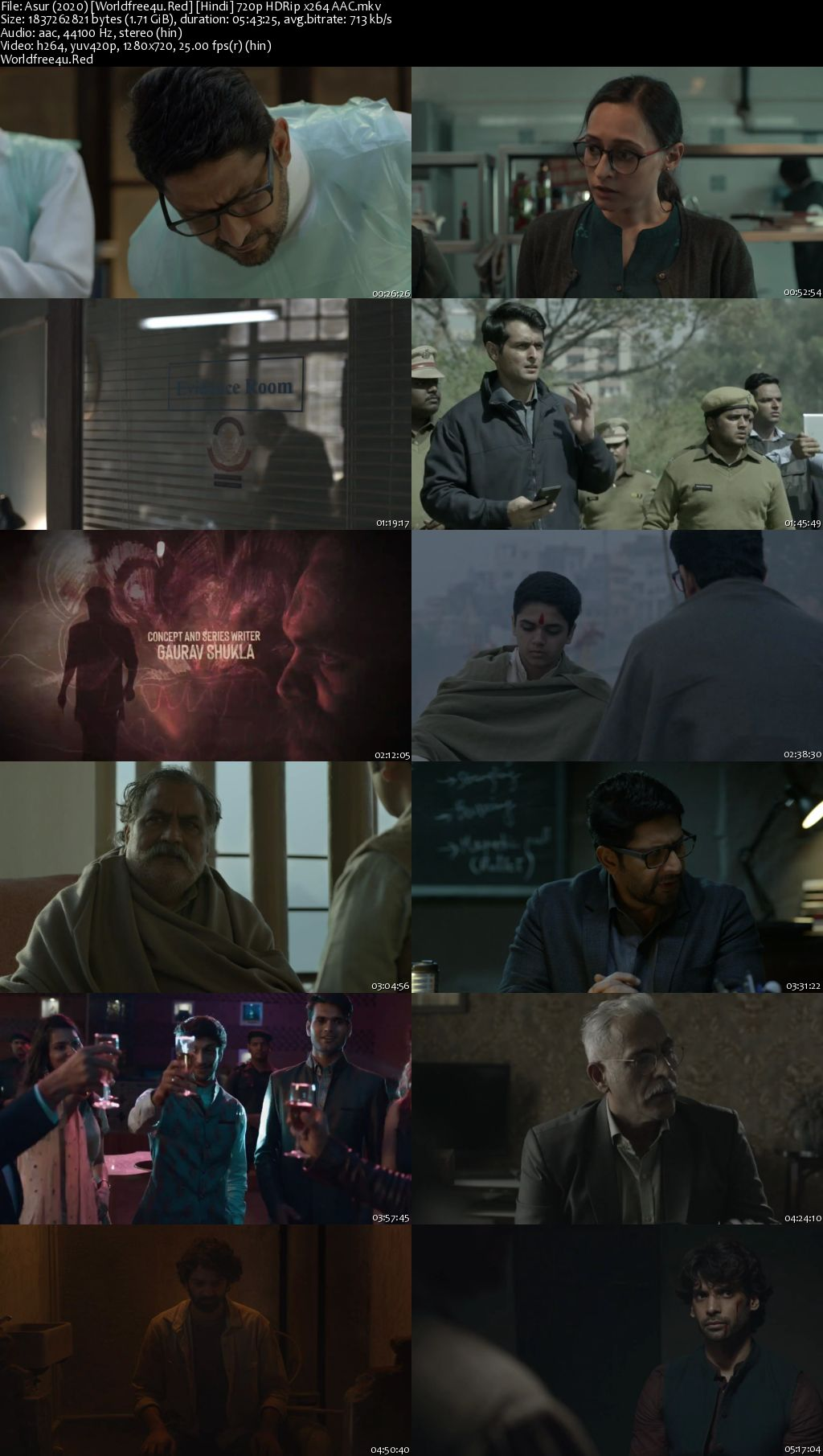 Asur: Welcome to Your Dark Side 2020 (Season 1) All Episodes HDRip 720p