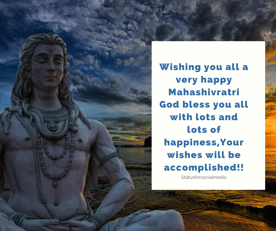 Shivratri BLESSING WISHES
