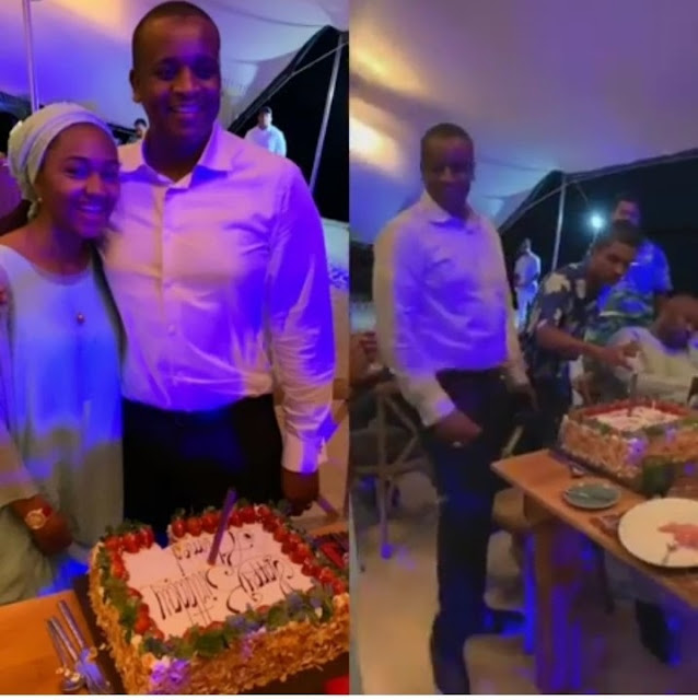 Zahra Buhari's Husband Holds Birthday Dinner With Family & Friends In Mauritius