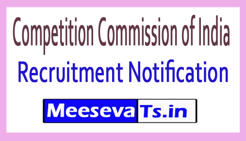 Competition Commission of India CCI Recruitment