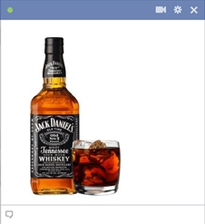 Jack Daniels Facebook Emoticon