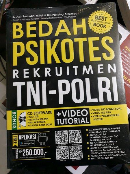 BEDAH PSIKOTES REKRUITMEN TNI POLRI