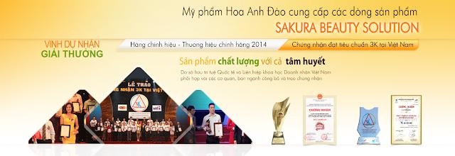 Công ty Mỹ phẩm Hoa Anh Đào vinh dự được Hiệp hội các nhà bán lẻ Việt Nam