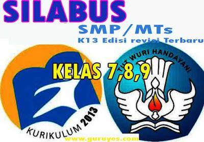 Download Silabus SKI Kelas 7 8 9 K13 Revisi 2020