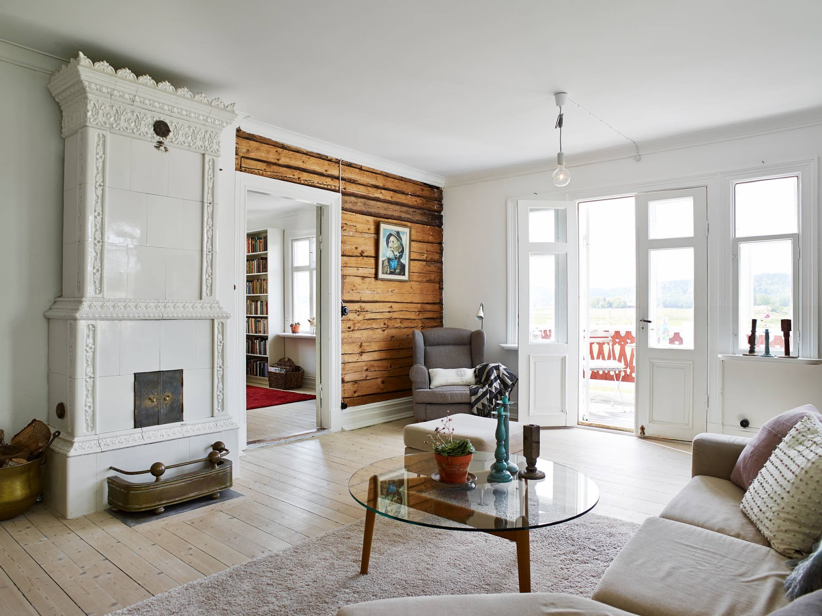 Interiors scandinavian style house cool chic style fashion - Scandinavian houses ...