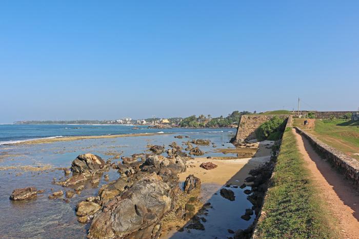 Festungsmauern von Galle Fort