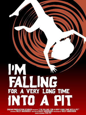 "Inside Out ""I'm Falling For A Very Long Time Into A Pit"" Disney Pixar Screen Print by Craig Foster x Cyclops Print Work"