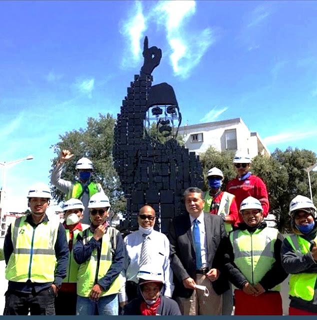 Monumen Soekarno di Kota Aljir Simbol Persahabatan Indonesia dengan Aljazair