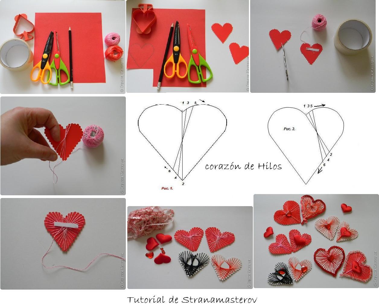 manualidades, San Valentín, fiestas, amor, love, crafts, diys