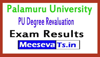 Palamuru University Degree Revaluation Exam Results