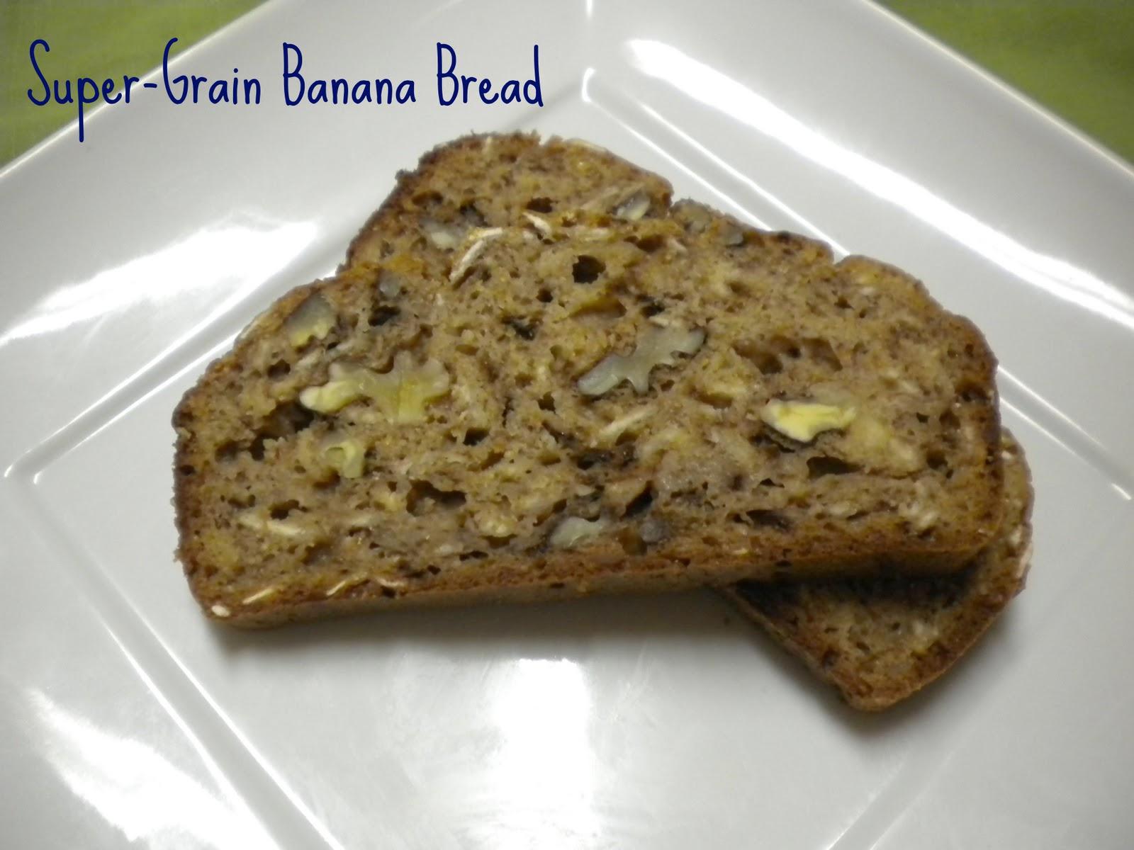 Super Grain Banana Bread Treats With A Twist
