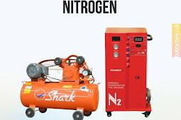 Kelebihan nitrogen dibanding angin biasa pada ban mobil atau motor