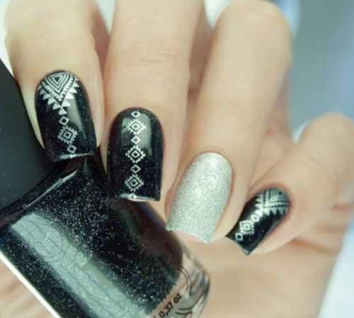 October nail designs