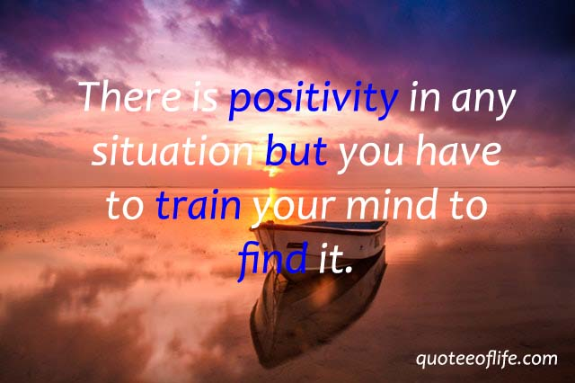 Positive thinking quotes for WhatsApp dp status image