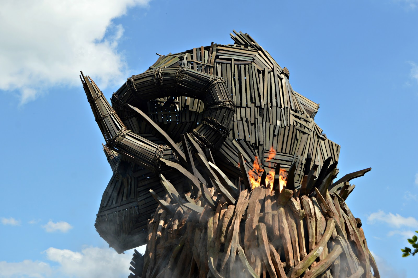 The Wicker Man Ride At Alton Towers