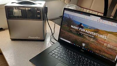 Review of the Poweroak Bluetti 400Wh Portable Power Solar Generator