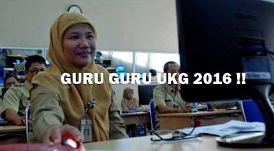 Guru Guru yang akan mengikuti UKG 2016 CEK!!