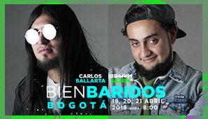 BIENBARIDOS: Ibrahim Salem y Carlos Ballarta en Bogota