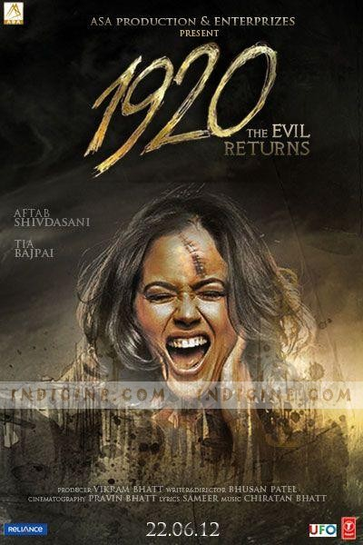 1920 Evil Returns 2012 Hindi 480p BRRip 350mb
