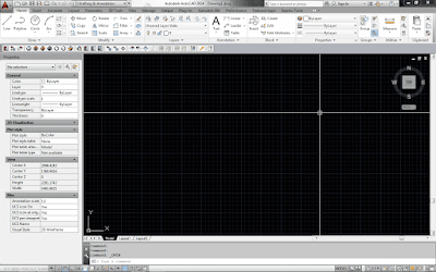 Workspace autocad