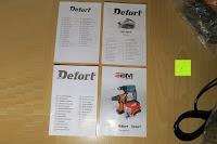 Anleitung: Defort DEP-900-R Elektrohobel 900 W, Falzfunktion, Spanauswurfsystem
