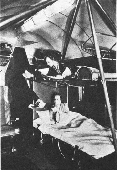 Fokker F-36 침대칸