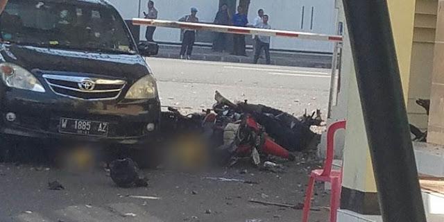 Bomber di Mapolrestabes Surabaya pernah cerita soal pekerjaan ke tetangga
