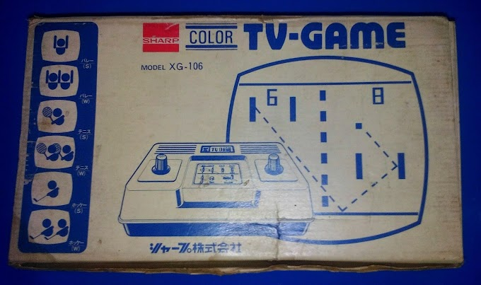 Sharp color TV game 6