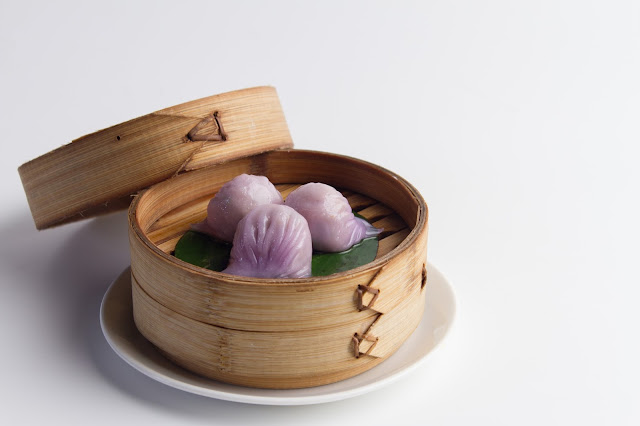 Chicken and coriander dumpling_
