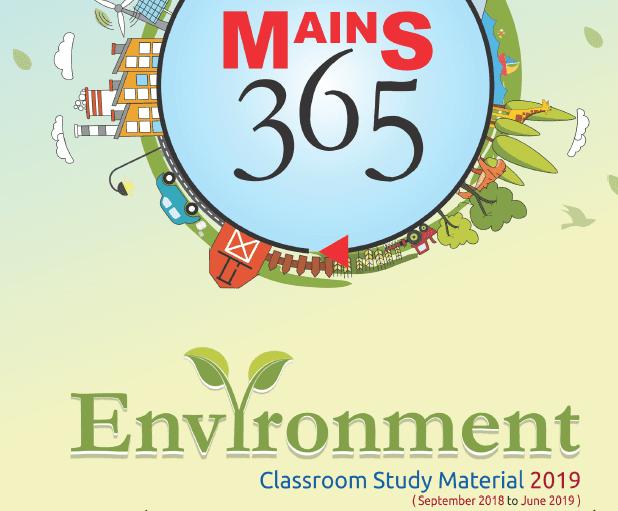 Vision IAS Mains 365 Environment 2019