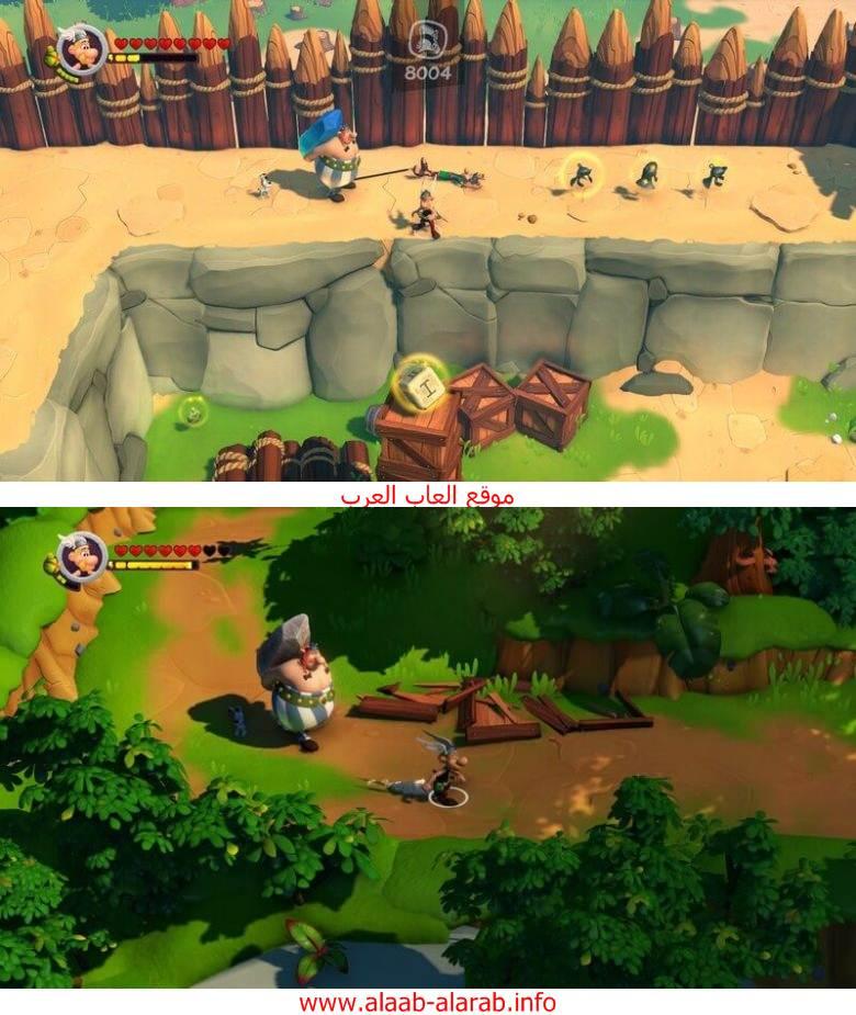 تحميل لعبة Asterix and Obelix XXL 3 The Crystal Menhir للكمبيوترمجانا