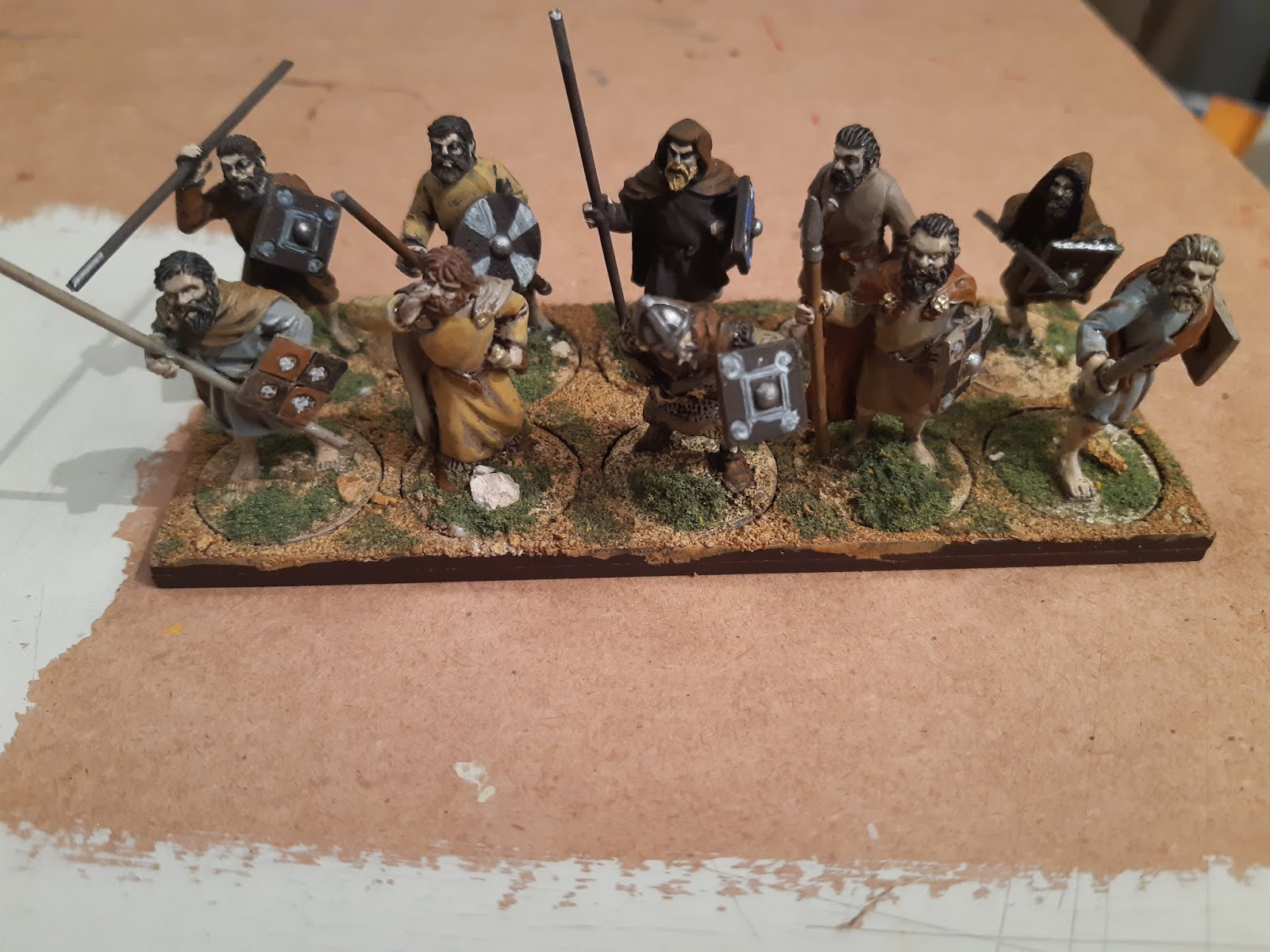 Dark Age Pict Casualties 28mm