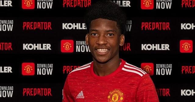 Photos: Amad Diallo posts brilliant picture in Man United kit