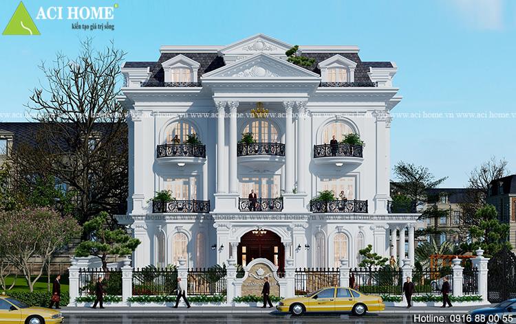 Cải tạo biệt thự cổ điển tại Hà Nội
