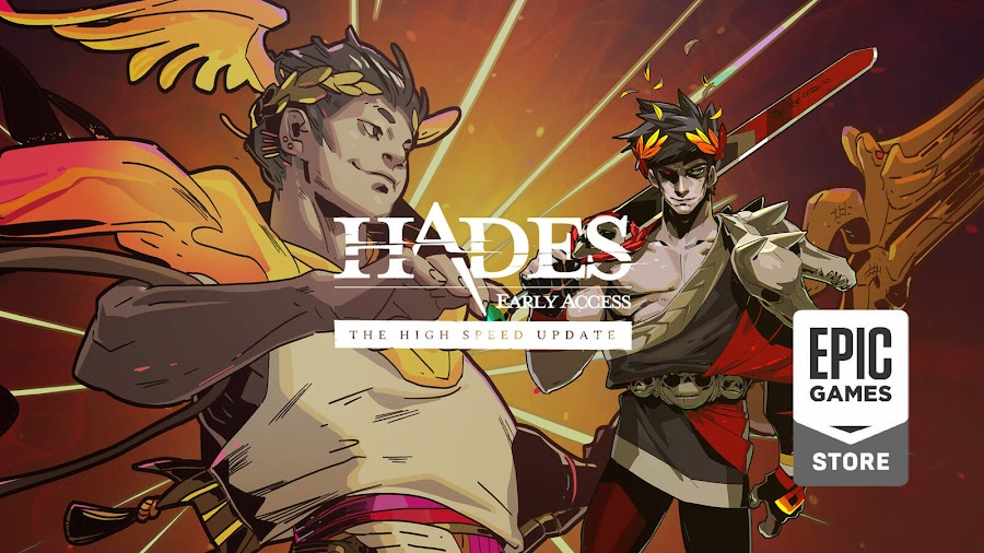 hades high speed update live supergiant games early access epic store