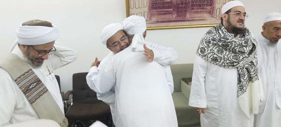 Sebelum Pulang ke RI, Habib Rizieq Mengunjungi Makam Ibunda Nabi Muhammad