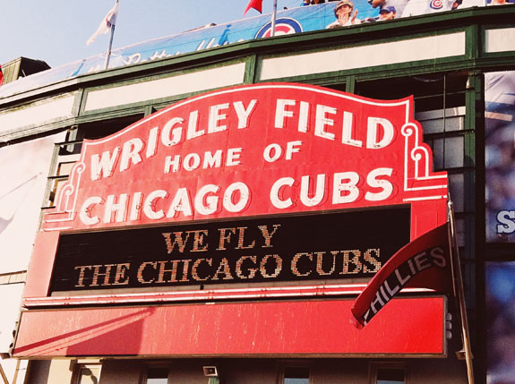 2 days in Chicago itinerary: Wrigley Field