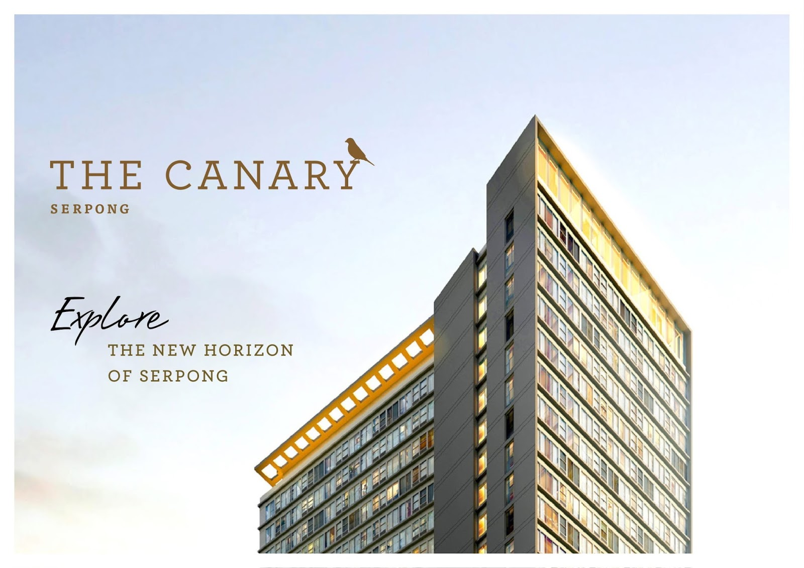 the canary apartment bsd serpong