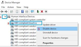 Cara Mematikan Mode Layar Sentuh di Windows 10