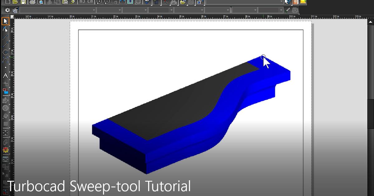 TurboCAD, le coffre à outils CAO - The CAD toolbox: Turbocad Sweep ...